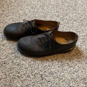 Dr Martens Distressed Brown Leather Size 12